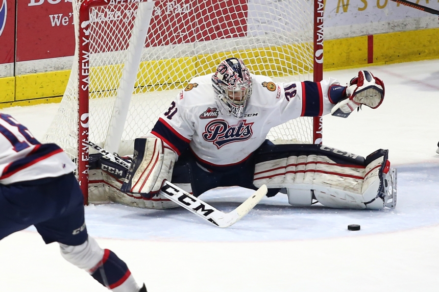 Tyler Brown leads Pats to a 2-0 win and a 3-1 series lead