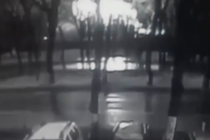 Surveillance video captures Dubai airliner crash in southern Russia