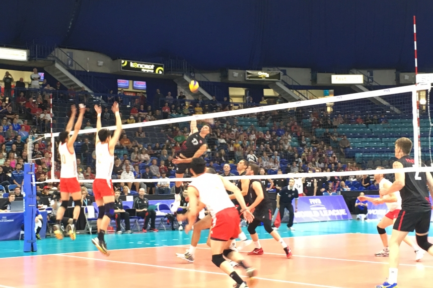 Another sweep for Team Canada at World Volleyball