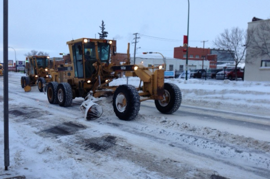 City of Regina, Ministry of Highways ready to clear snow