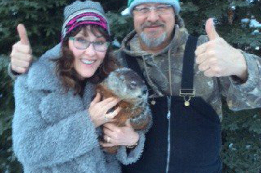 Sask.'s unofficial groundhog Whelan Woody predicts early spring