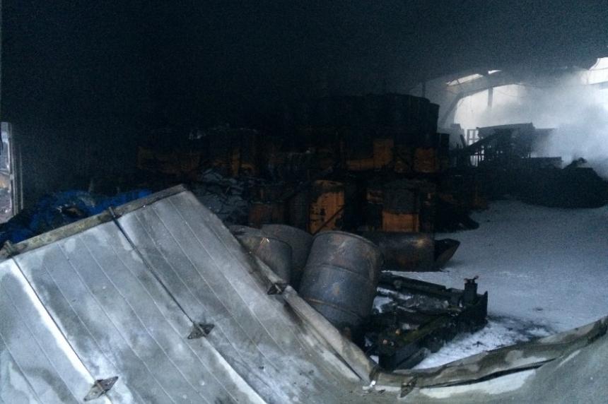 Shercom fire under control north of Saskatoon, crews save 3rd building