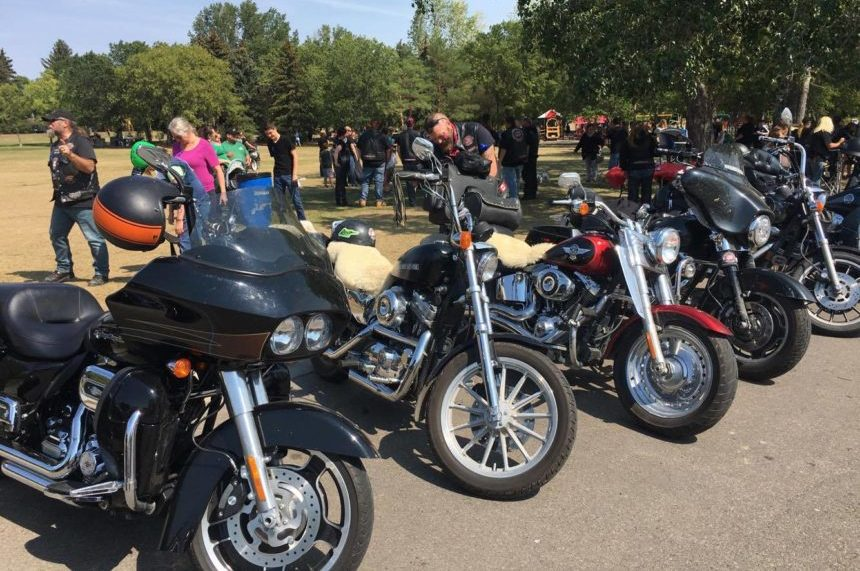 Bikers Against Child Abuse make an impact on Regina family