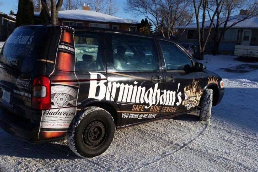 Birmingham's provides customers with a free ride home