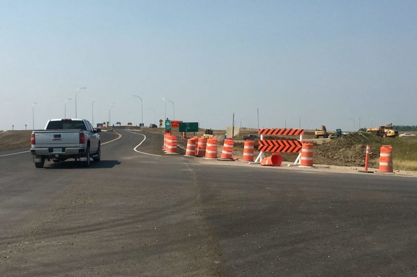 Regina Bypass opens between Hwy 1, Arcola Ave