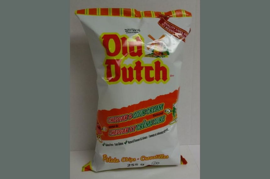Old Dutch chips recalled due to salmonella concerns