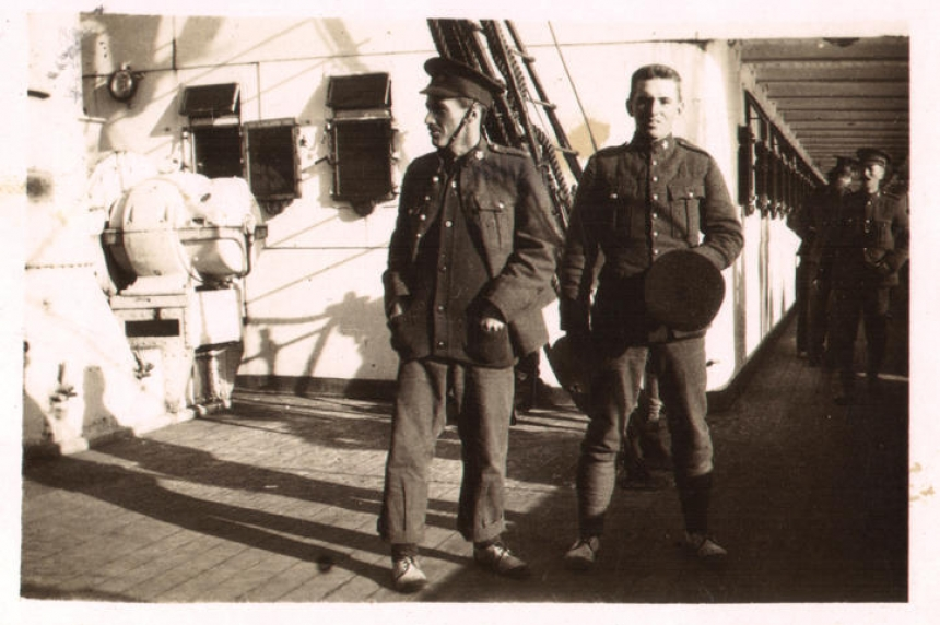 From Vimy to Sask.: letters from the frontline