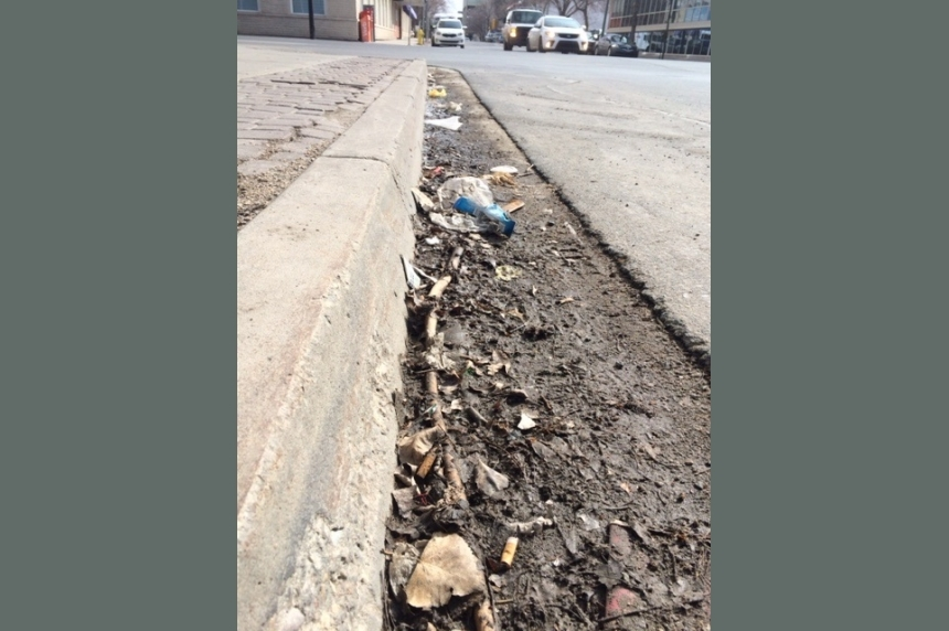 Cars towed during street sweeping in Regina