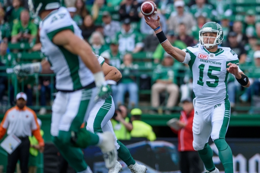 Roughriders' quarterback B.J. Coleman learning the nuances of CFL game
