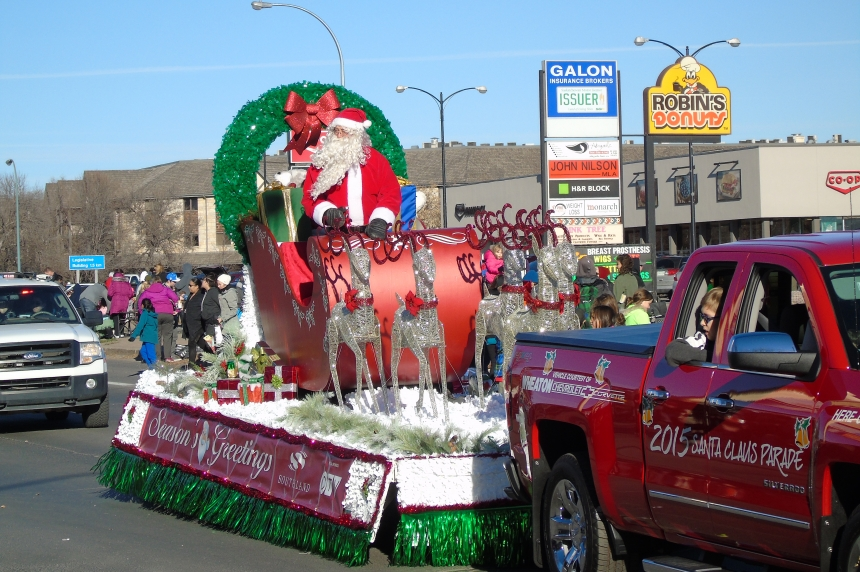 Santa Claus comes to the Queen City with new parade route