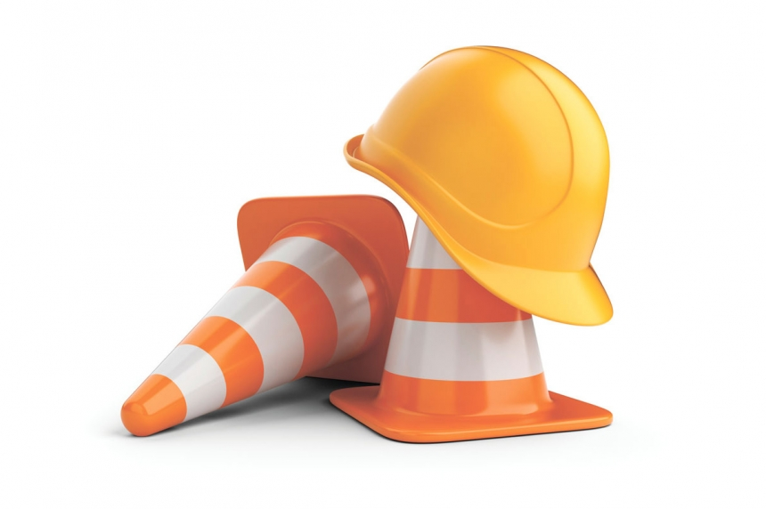 Driver, flag person working construction hurt in orange zone near Paradise Hill