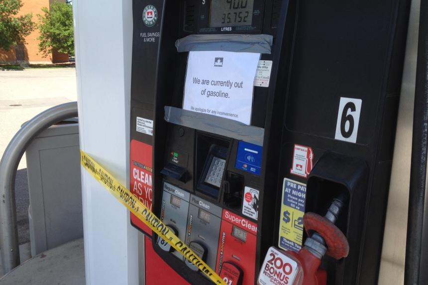 Most Regina Petro-Canada stations run out of fuel