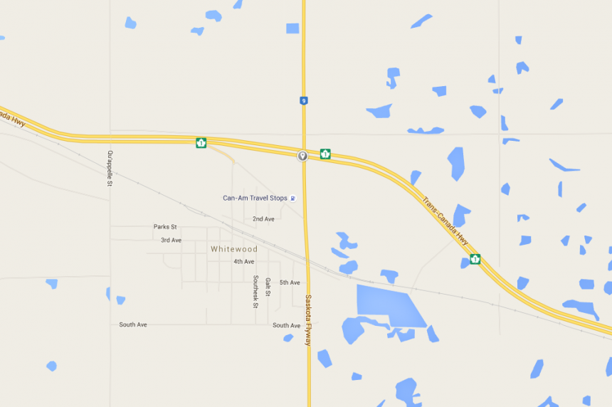 1 man dead after crash near Whitewood