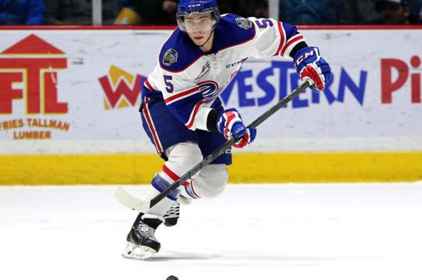Regina Pats defenceman Colby Williams out indefinitely