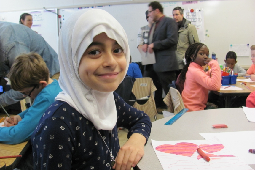 Learning from each other: Regina students helping newcomers