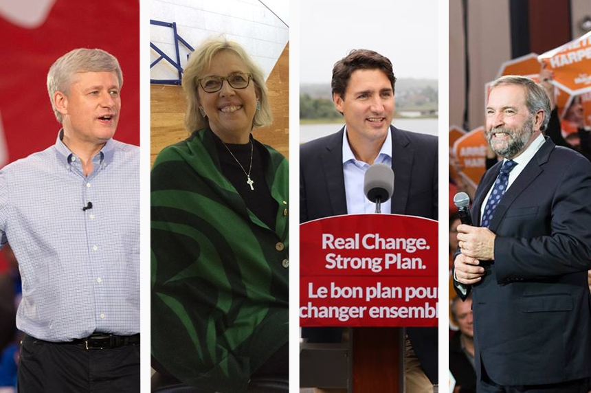 Live election results map: Canada Votes 2015
