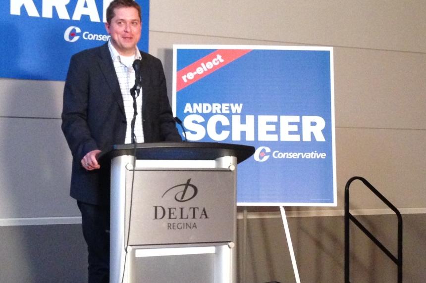 Andrew Scheer secures Regina-Qu'Appelle seat for Conservative opposition
