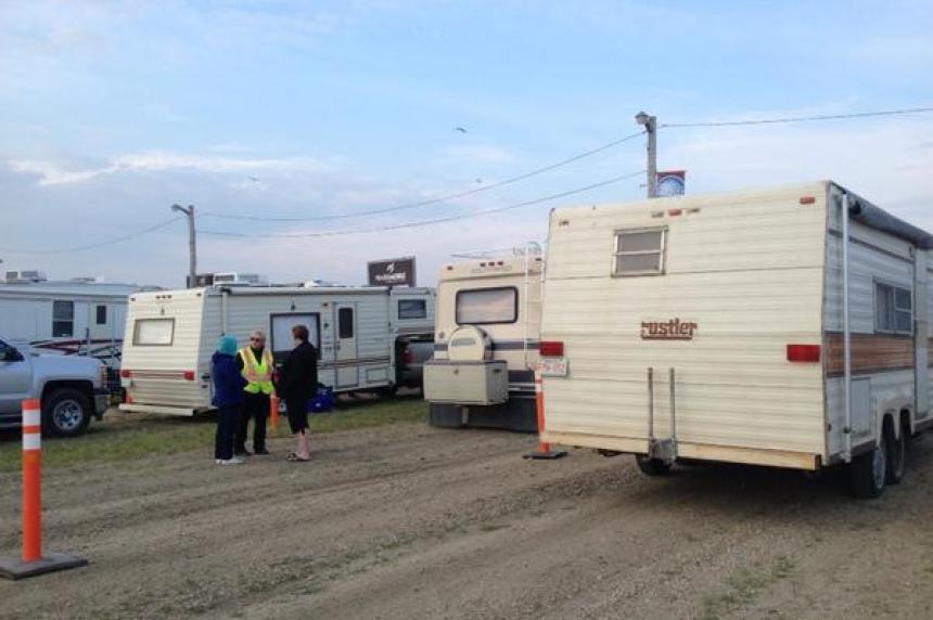 PHOTOS: 1st campers through Craven Country Jamboree gates