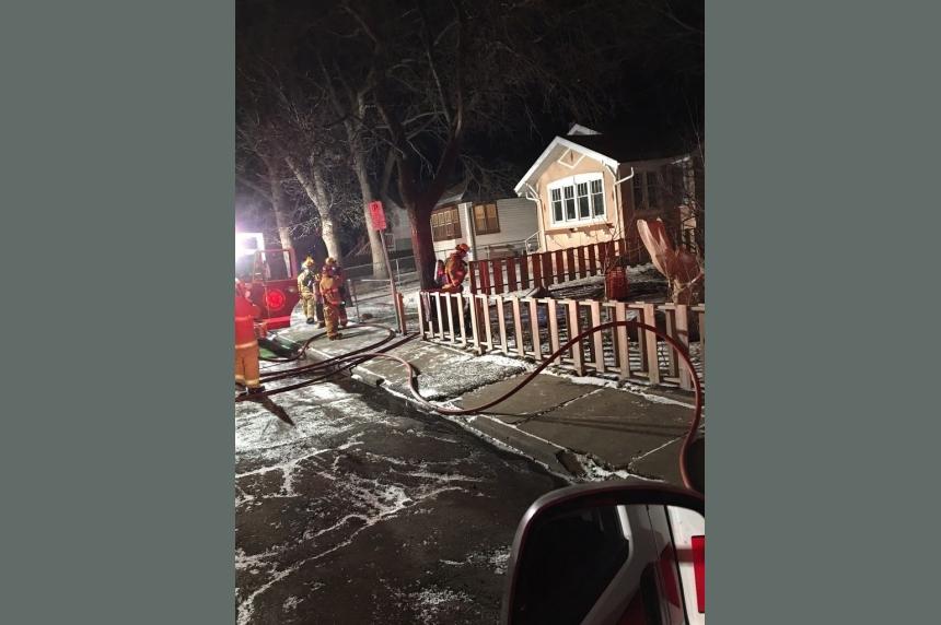 1 woman dead in Montague Street house fire in Regina
