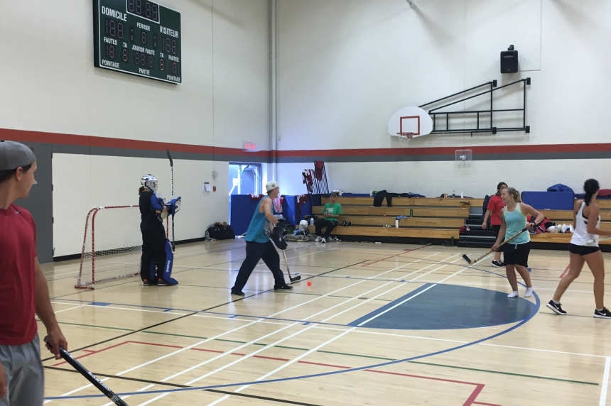 Group in Regina trying to break world record for floor hockey