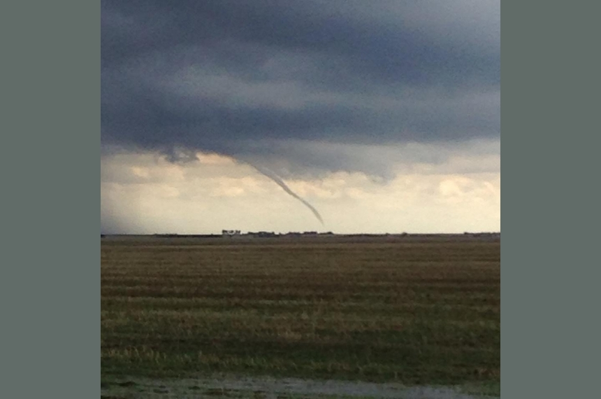 Funnel cloud advisories lifted for Southern Sask.