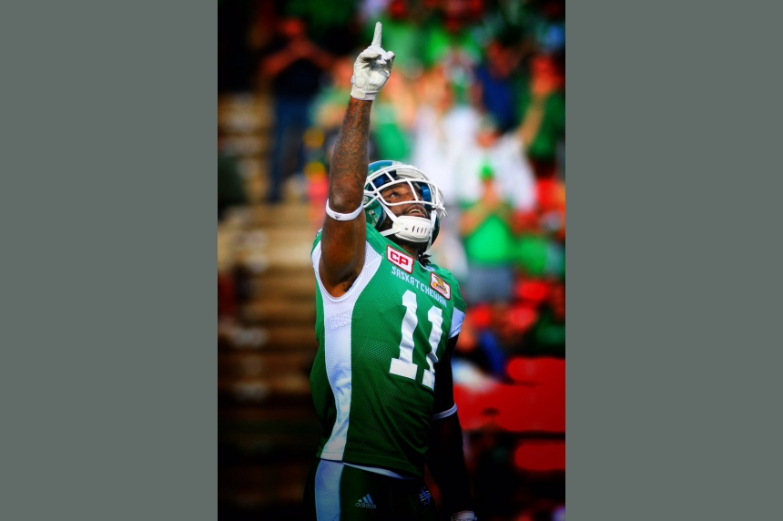 Big year for Roughriders' Ed Gainey will be capped off with son's birth