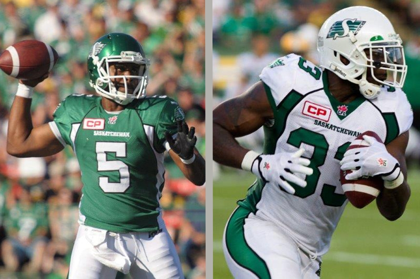 Riders trade away  Glenn,  Messam ahead of CFL trade deadline