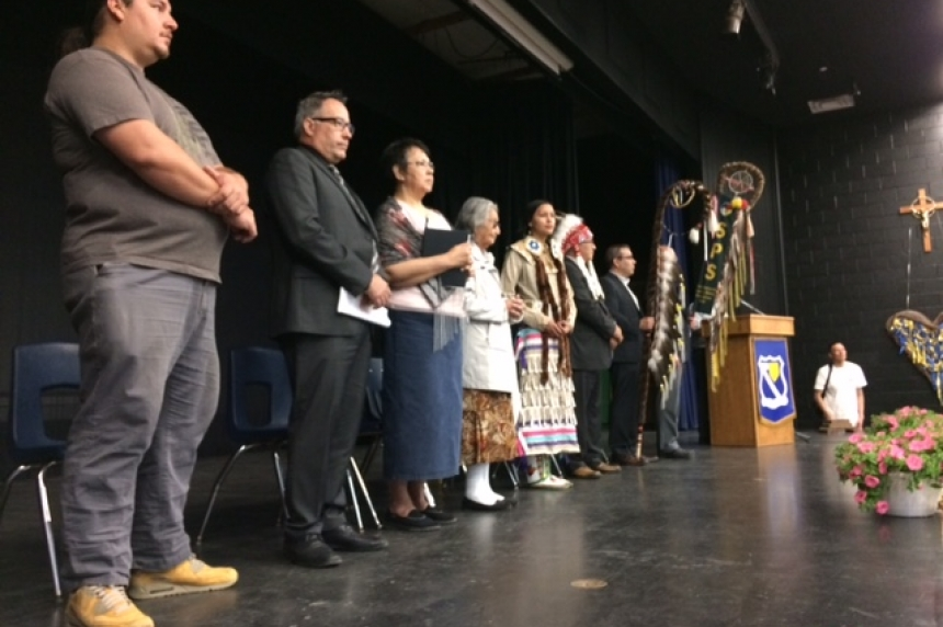 First Nation youth celebrate language in Saskatoon