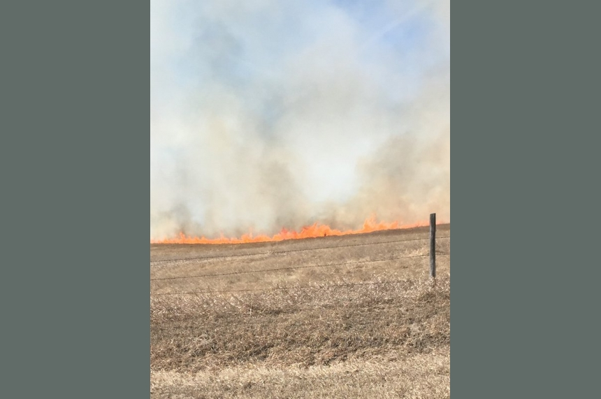 Grass fire season expected to be bad around Saskatoon