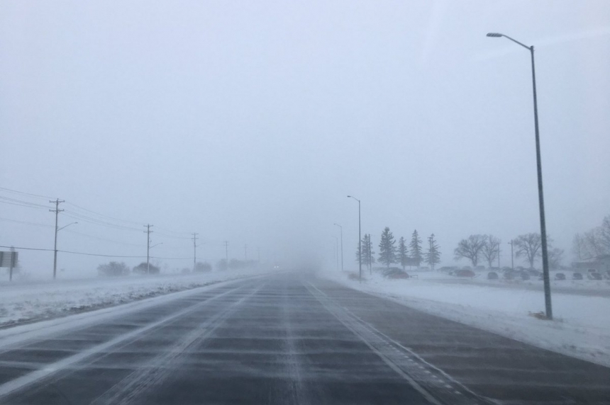 Wind and blowing snow advisory for southeast Sask.