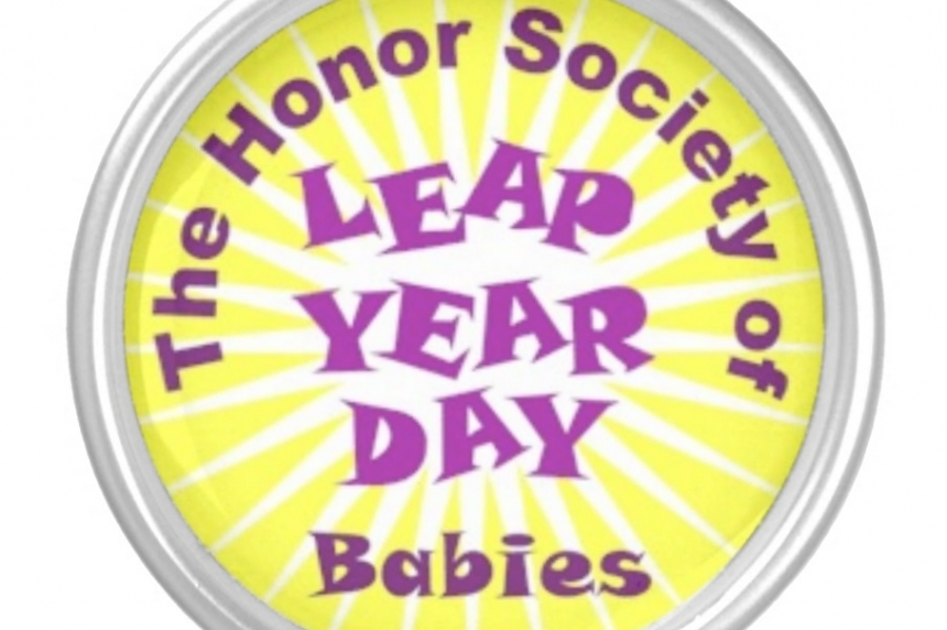 Leap year babies break out birthday candles