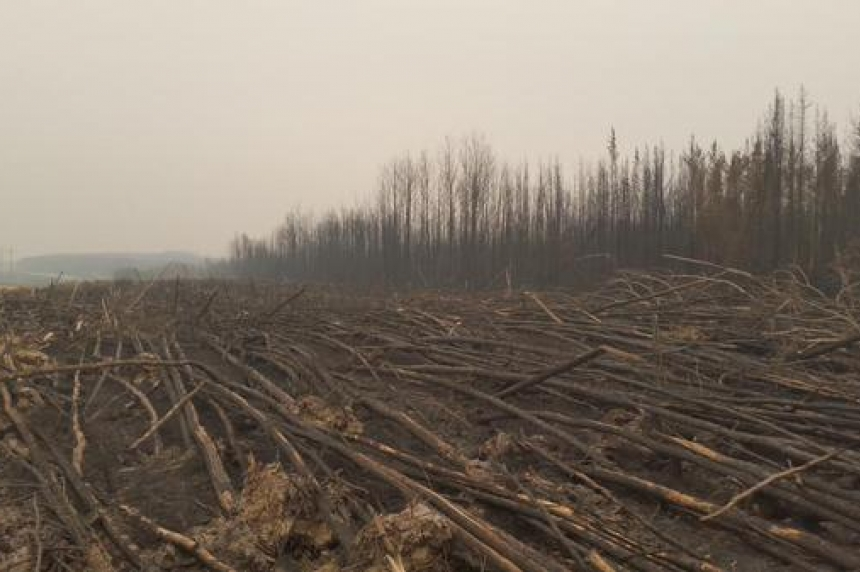 Partial reopening of Hwy 2 shows Sask. wildfire devastation