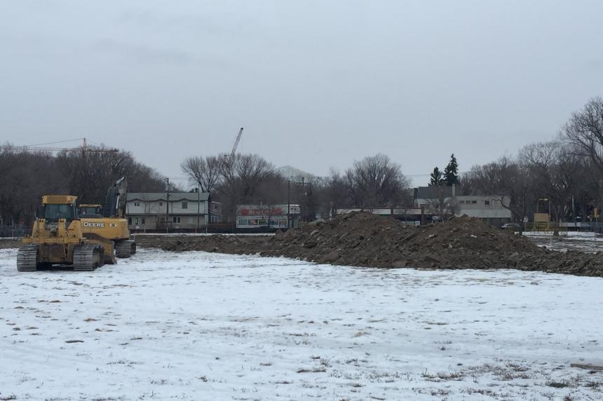 Land preparation begins for Regina's new Connaught school