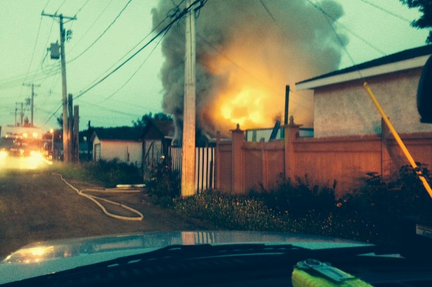 Fire causes major damage to a Saskatoon garage
