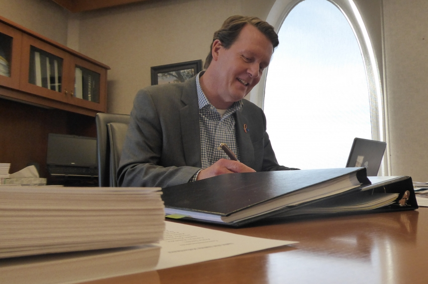 Regina Mayor Michael Fougere marks 5 years