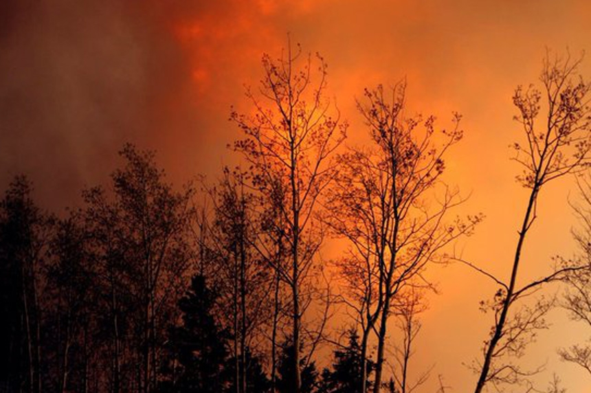 Images of wildfires ravaging Fort McMurray