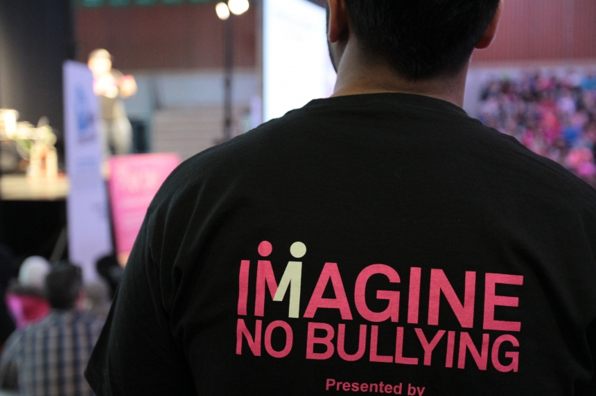 Regina high school marks Pink Day with anti-bullying rally