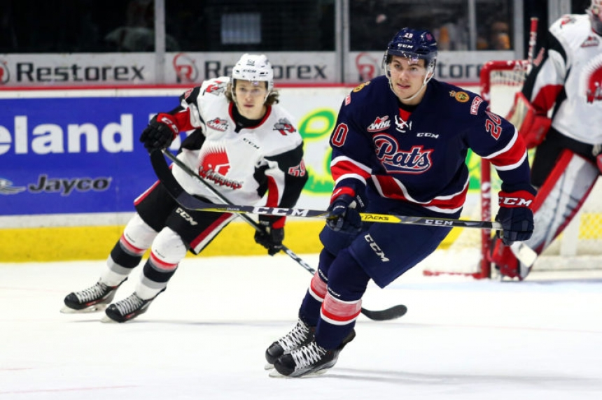 Pats trade Luc Smith to Kamloops for defenceman Dawson Davidson