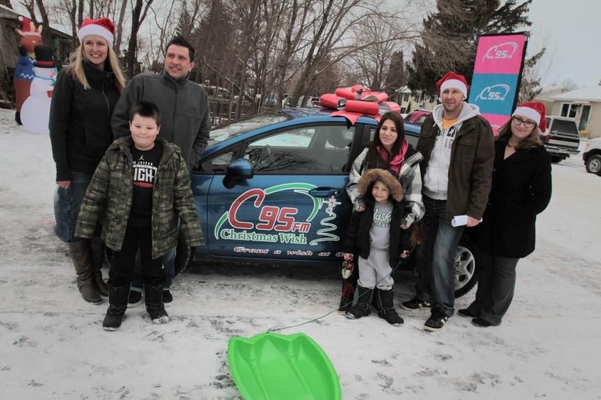 Saskatoon family's Christmas wish comes true