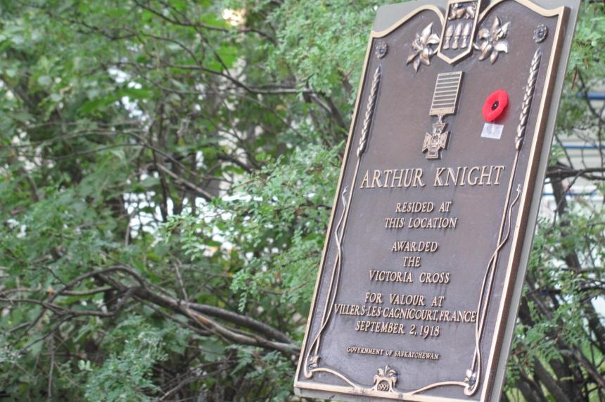 Regina Victoria Cross recipient remembered