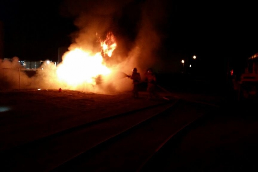 $70K in damages caused by multi-vehicle fire in Moose Jaw