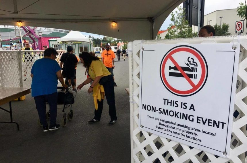 Queen City Ex marks first year of smoke-free fair grounds