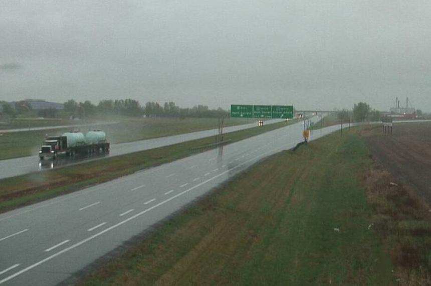 Localized flooding possible as rain falls in Saskatchewan