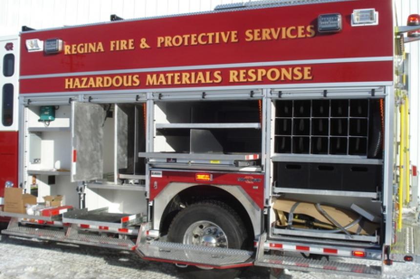 Regina crews respond to 1,000-litre engine oil spill