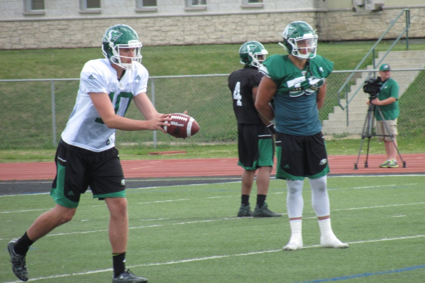 Tackling and rushing among extra work Roughrider kickers are putting in