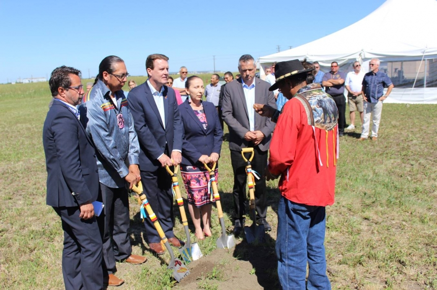 Groundbreaking of new business park west of Regina