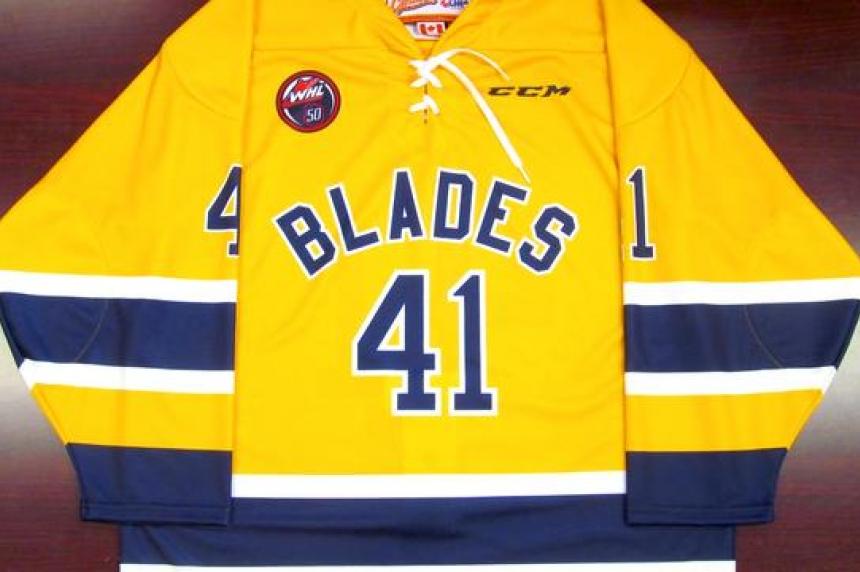 Blades to wear replica vintage jerseys for season opener