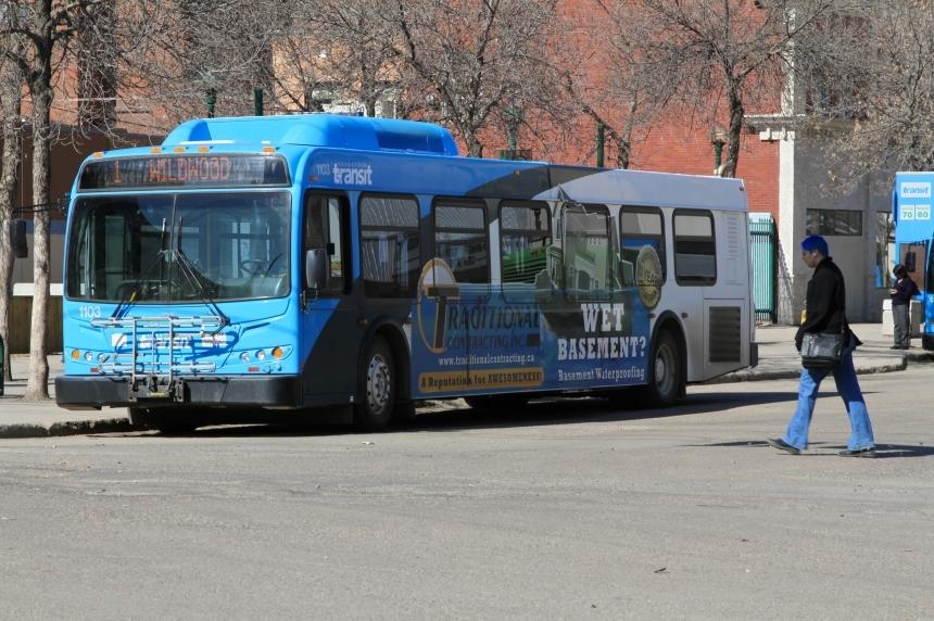 Saskatoon bus cancellations for Thursday