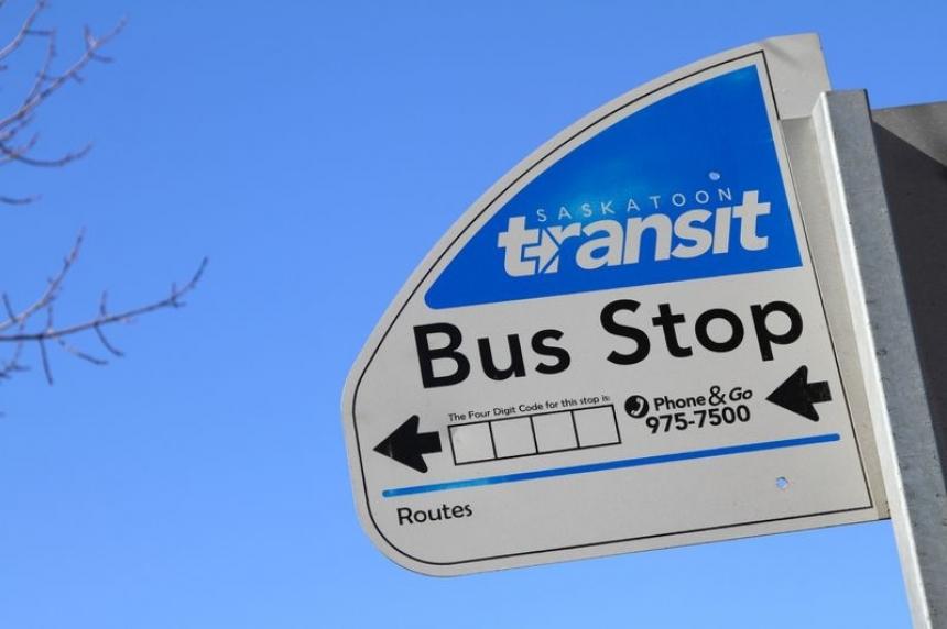 Transit changes in Saskatoon Saturday