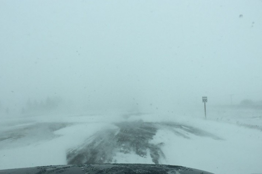 Several communities without power as winter storm rages in southeast Sask.